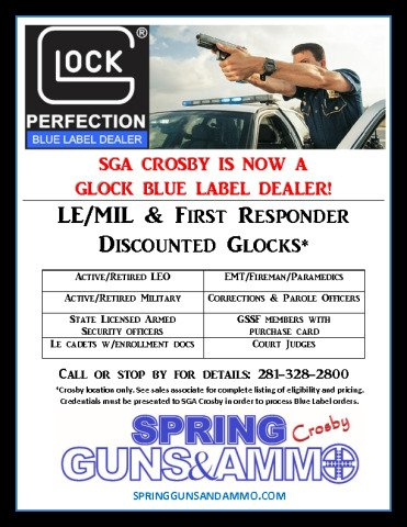 Blue Label Dealer Flyer