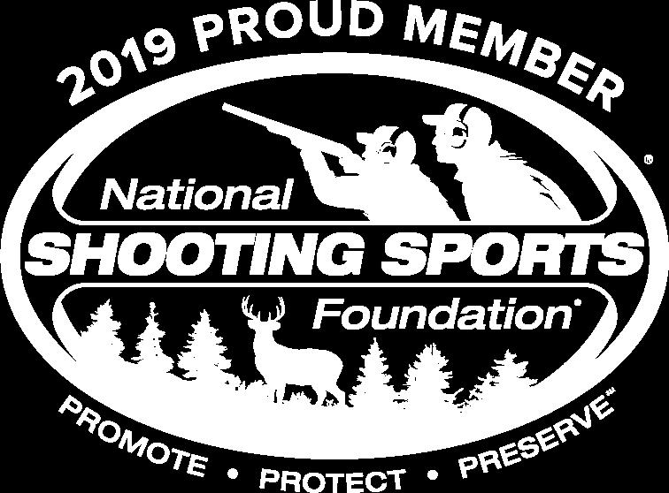 white NSSF logo