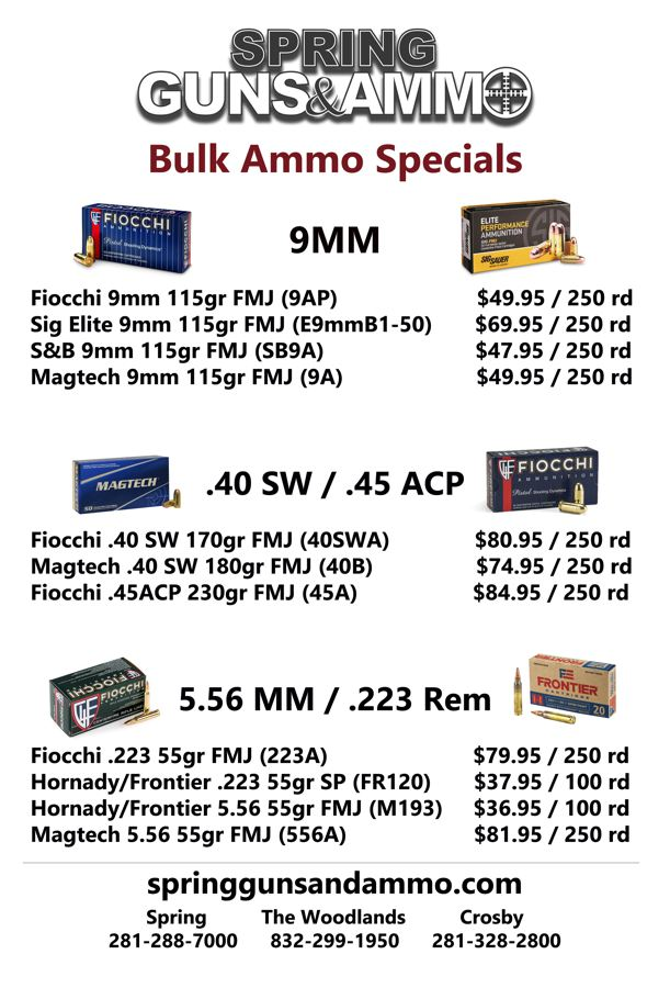 Ammo Sale Flyer Sept 2019